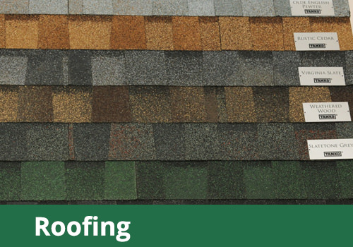 View our Roofing products
